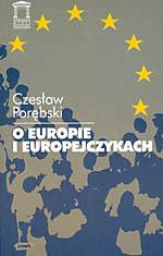 O Europie i Europejczykach - Czesław Porębski  | okładka