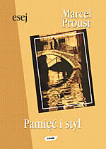 Pamięć i styl - Marcel Proust    okładka