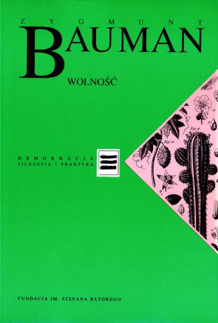 Wolność - Zygmunt Bauman  | okładka