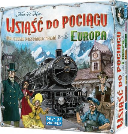 Wsiąść do pociągu: Europa - gra planszowa -    okładka