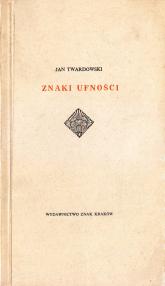 Znaki ufności - ks. Jan Twardowski  | mała okładka