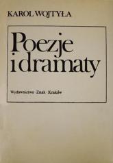 Poezje i dramaty - bp Karol Wojtyła  | mała okładka