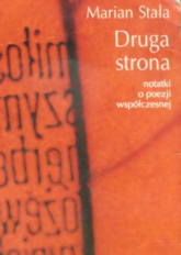 Druga strona. Notatki o poezji współczesnej - Marian Stala  | mała okładka