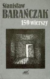 159 wierszy 1968-1988 - Stanisław Barańczak  | mała okładka