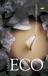 Diariusz najmniejszy - Umberto Eco  | mała okładka