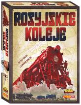 Rosyjskie koleje - gra planszowa  - Helmut Ohley | mała okładka