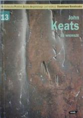 33 wiersze - John Keats  | mała okładka