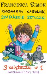 Koszmarny Karolek. Szatańskie sztuczki - Francesca Simon  | mała okładka