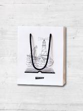 Torba prezentowa na książki (bardzo mała) -  | mała okładka