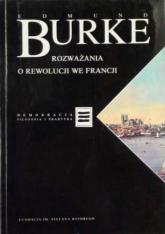 Rozważania o rewolucji we Francji - Edmund Burke  | mała okładka