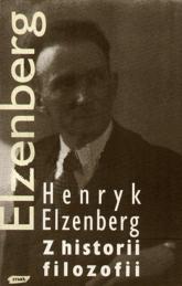 Z historii filozofii. Pisma, T. III - Henryk Elzenberg  | mała okładka
