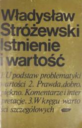 Istnienie i wartość - Władysław Stróżewski  | mała okładka