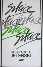 Szkice - Konstanty Jeleński  | mała okładka