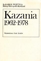Kazania 1962-1978  - bp Karol Wojtyła  | mała okładka