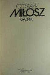 Kroniki - Czesław Miłosz  | mała okładka