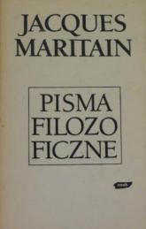 Pisma filozoficzne - Jacques Maritain  | mała okładka
