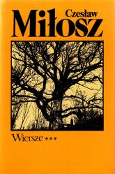 Wiersze, T. I-III - Czesław Miłosz  | mała okładka