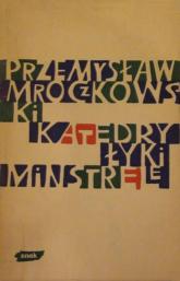 Katedry, łyki, minstrele - Przemysław Mroczkowski  | mała okładka