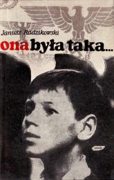 Ona była taka  - Janusz Radzikowski    mała okładka
