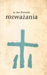Rozważania - ks. Jan Pietraszko  | mała okładka