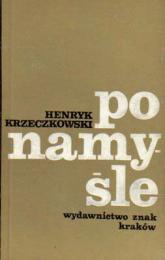 Po namyśle  - Henryk Krzeczkowski  | mała okładka