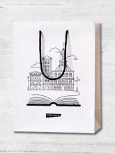 Torba prezentowa na książki (średnia) -  | mała okładka