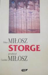 Storge - Oskar Miłosz  | mała okładka