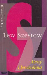 Ateny i Jerozolima - Lew Szestow  | mała okładka