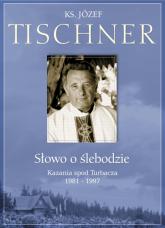CD Słowo o Ślebodzie. Kazania spod Turbacza - ks. Józef Tischner  | mała okładka