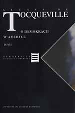O demokracji w Ameryce - Alexis de Tocqueville  | mała okładka