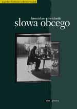 Słowa obcego - Bronisław Świderski  | mała okładka