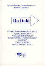 Rozkład materiału nauczania języka polskiego w klasie I gimnazjum - Tadeusz Garsztka, Zuzanna Grabowska, ... | mała okładka