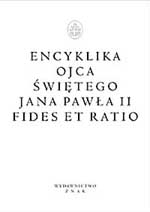 Fides et ratio. Encyklika - papież   Jan Paweł II  | mała okładka
