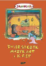 Świerszczyk Muzykant i Kret -  Janosch  | mała okładka