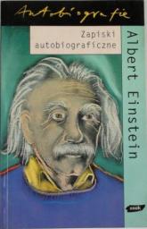 Zapiski autobiograficzne - Albert Einstein  | mała okładka