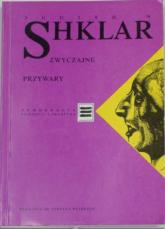 Zwyczajne przywary - Judith Shklar  | mała okładka