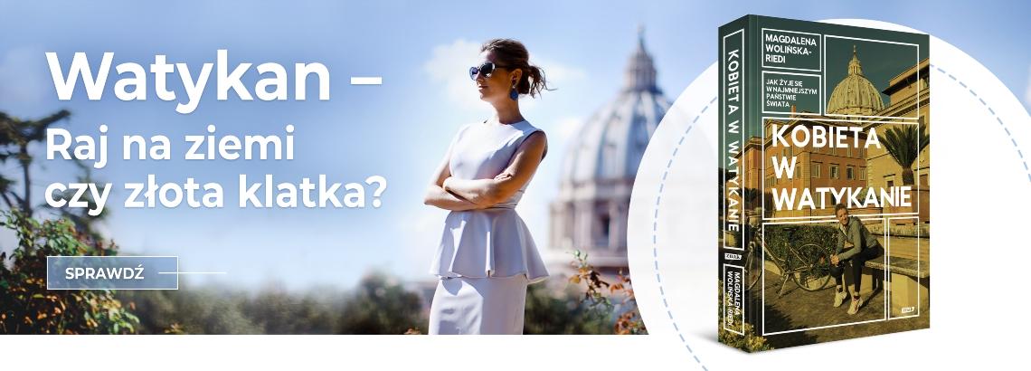 Kobieta w Watykanie