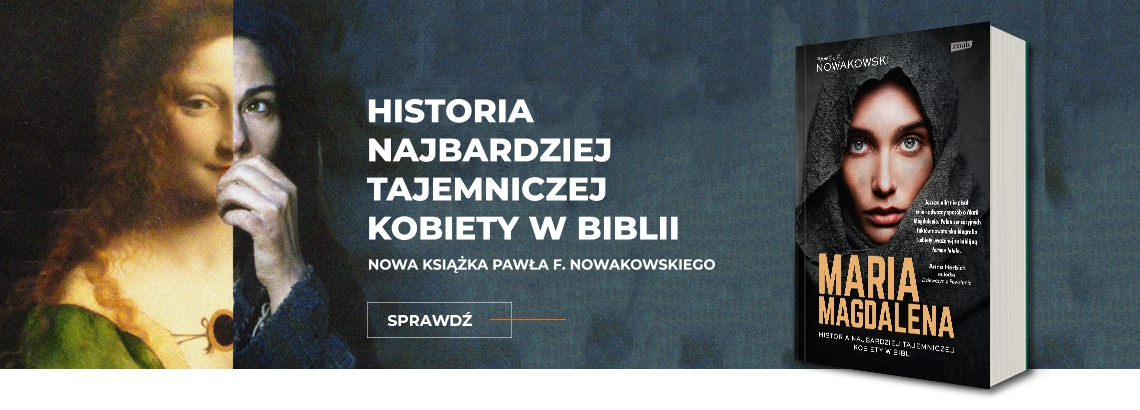 baner reklamujacy ksiazke maria magdalena-historia najbardziej tajemniczej kobiety w biblii