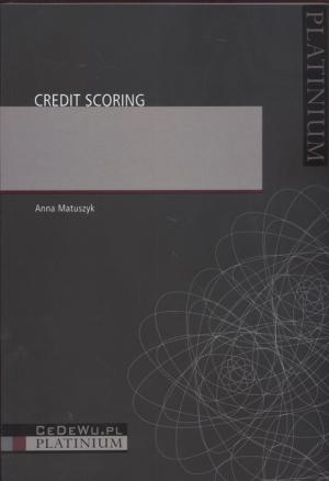 Credit Scoring - okładka