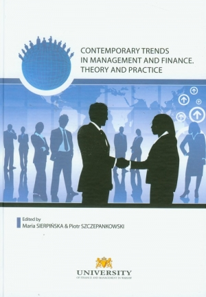 Contemporary trends in management and finanse - okładka