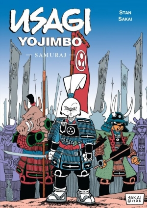 Usagi Yojimbo Samuraj Tom 2 - okładka