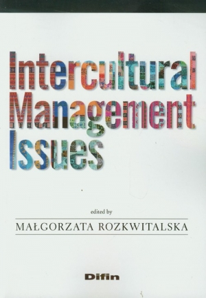 Intercultural Management Issues - okładka