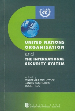 United Nations Organisation and the International Security System - okładka