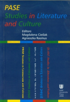 Pase Studies in Literature and Culture - okładka