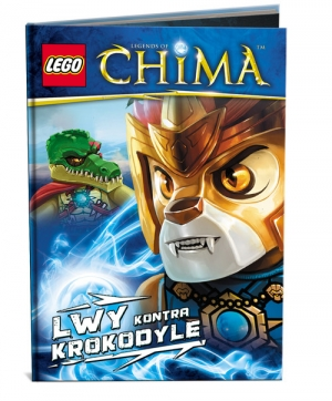LEGO Legends of Chima Lwy kontra Krokodyle - okładka
