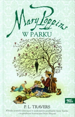 Mary Poppins w parku - okładka