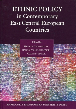 Ethnic Policy in Contemporary East Central European Countries - okładka