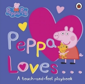 Peppa Loves A Touch and Feel Playbook - okładka