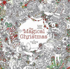 The Magical Christmas A Colouring Book - okładka