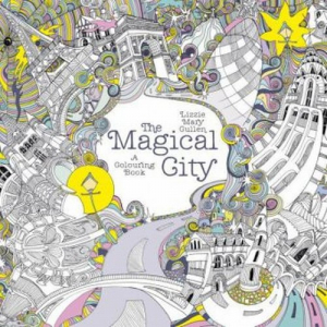 The Magical City A Colouring Book - okładka